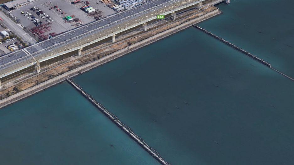 名古屋港-名古屋西3区貯木場