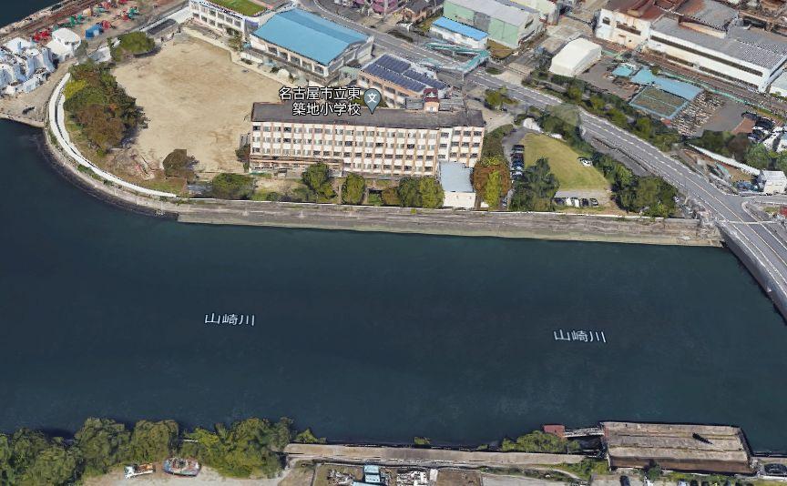名古屋港-山崎川河口
