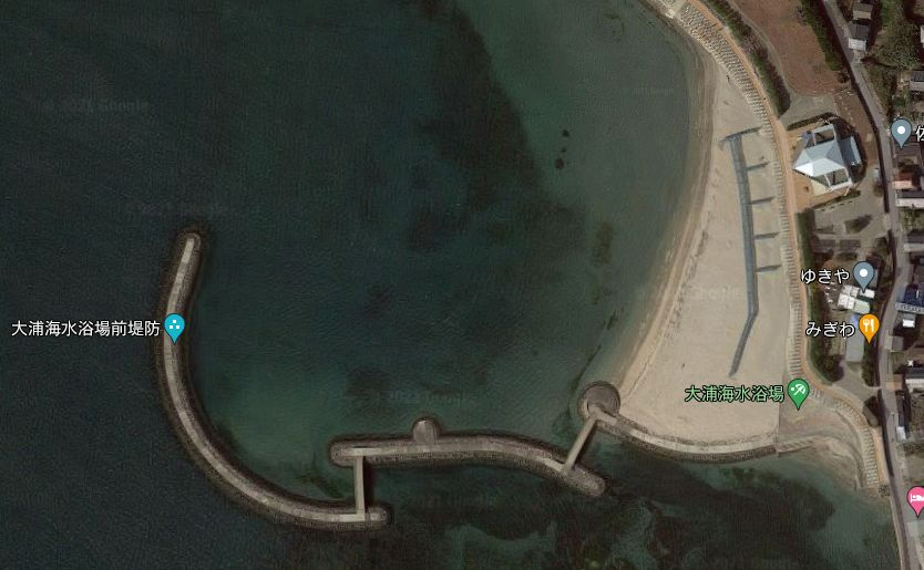 佐久島-大浦海水浴場