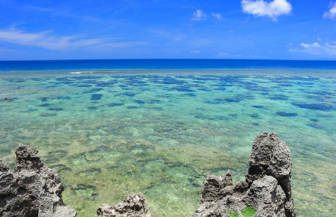 トケイ浜-透明度の高い海