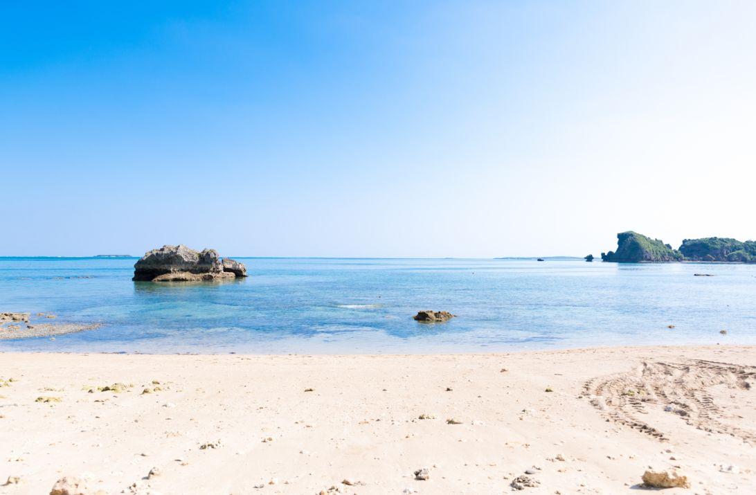 ムルク浜の景色